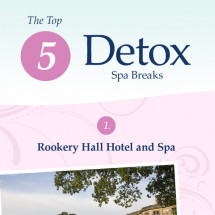 5 detox spa breaks Infographic