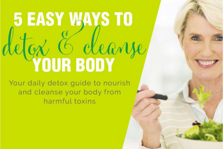 5 easy ways to detox and cleanse your body Infographic