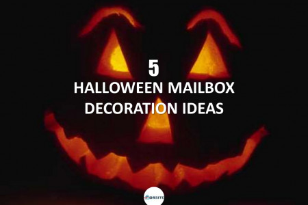 5 Halloween Mailbox Decoration Ideas Infographic