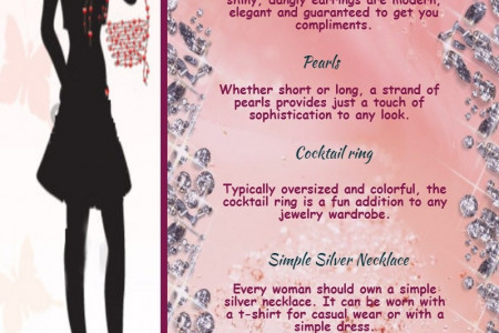 5 Jewelry Peices Every Women Should Own Infographic