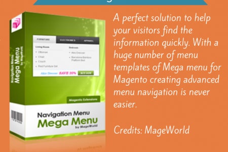 5 Must Have Magento Extensions Infographic