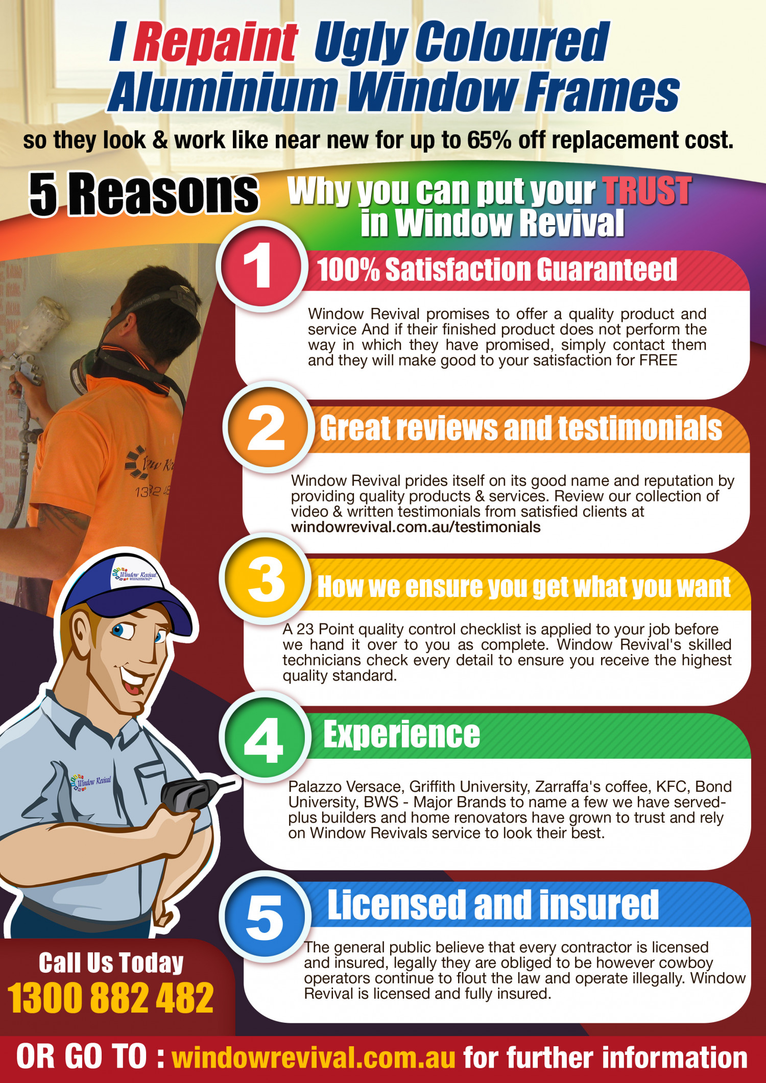 5 Reasons Why You Can Put Your Trust on Window Revival Infographic