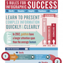 5 Rules for Infographic Success Infographic