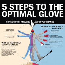 5 Steps To The Optimal Glove Infographic