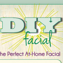 5 Steps to the Perfect At-Home Facial Infographic