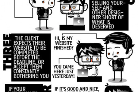 5 things every designer should know when dealing with clients Infographic