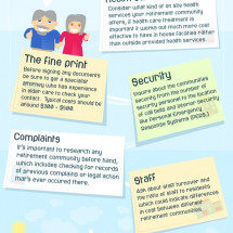 5 Things to Look For in a Retirement Home Infographic