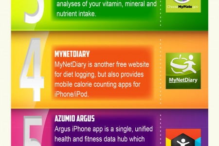 5 Tools To Track Calories & 4 Ways To Log Your Diet Infographic