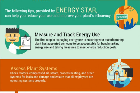 5 Ways Manufacturers can Improve Energy Efficiency Infographic