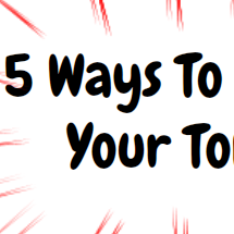 5 Ways to Control Your Tongue Infographic