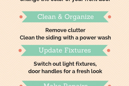 5 Ways to Improve Curb Appeal Infographic