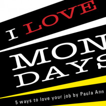 5 ways to love your job Infographic