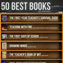 50 Best Books For Teachers Infographic