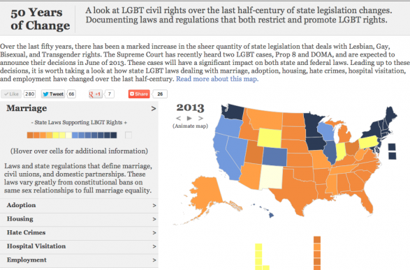 50 Years of Change: LGBT Civil Rights