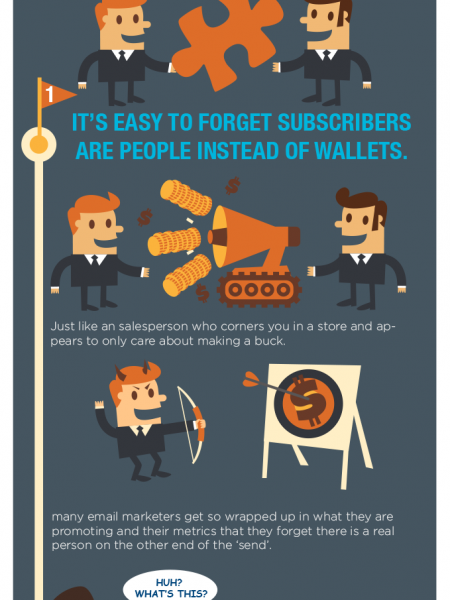 5 Ways To Get Your Email Opened First Infographic
