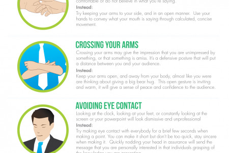 6  Body Language Mistakes You Might Be Doing And How to Fix Them Infographic