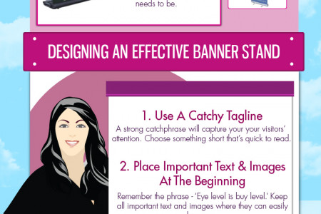 6 Tips For Designing An Effective Banner Stand Infographic