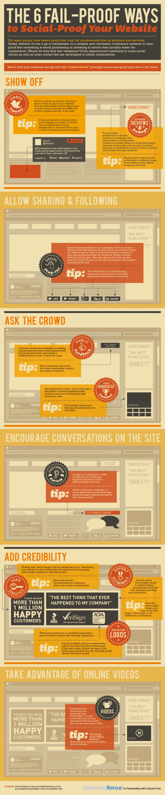 6 Ways To Social Proof Your Website