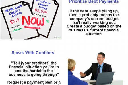6 Ways You Can Dig Your Business Out of Debt Infographic