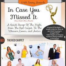 64th Annual Prime Time Emmy Awards Infographic