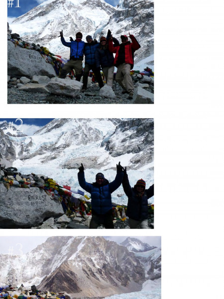 7 Best Moments Captured @Everest Base Camp Infographic