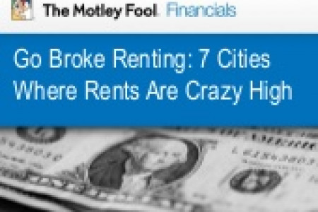 7 Cities Where Rents Are Crazy High Infographic