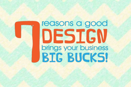 7 Reasons a Good Design Brings your Business BIG Bucks! Infographic