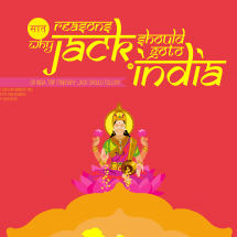 7 Reasons Why Jack Should Go To India Infographic