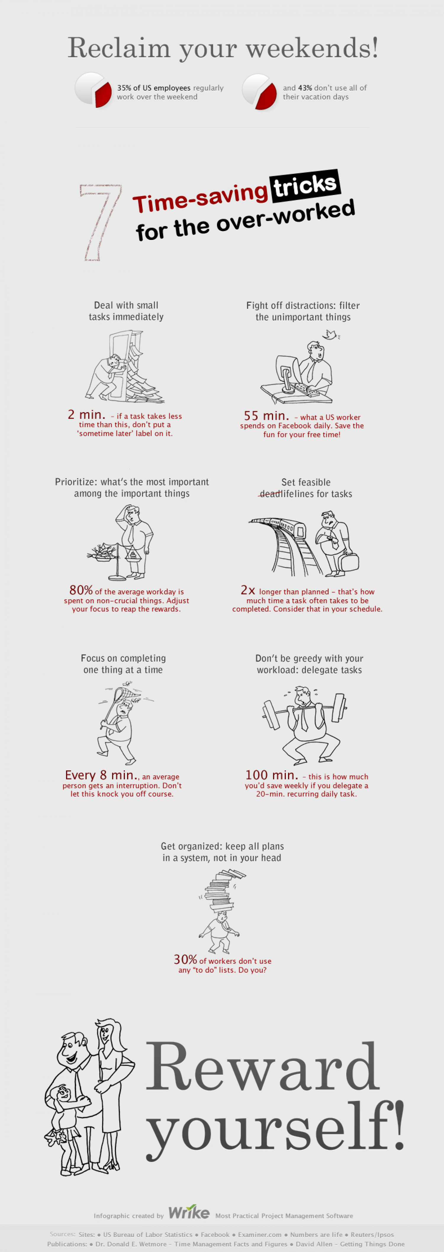 7 Time-Savers for the Overworked Infographic