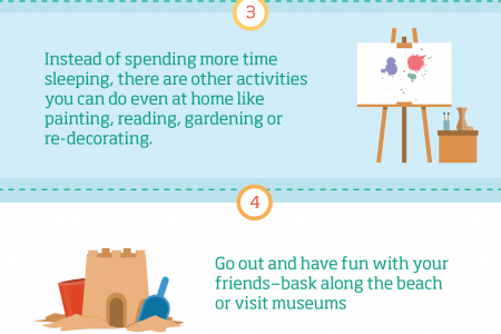 7 Ways to Enjoy Your Summer Holidays Infographic