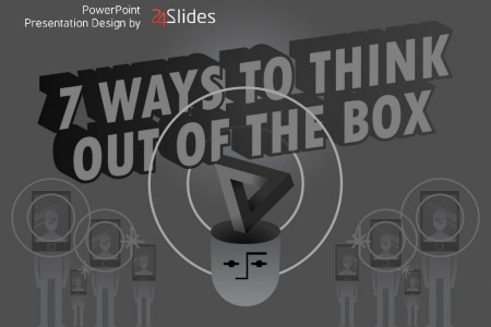 7 Ways to Think Out of the Box Infographic