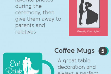 8 Cheap & Trendy Wedding Favors for 2013 Infographic