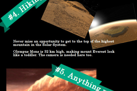 8 Essentials When Moving to Mars Infographic