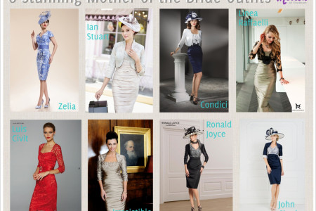 8 Stunning Mother of the Bride Outfits Infographic