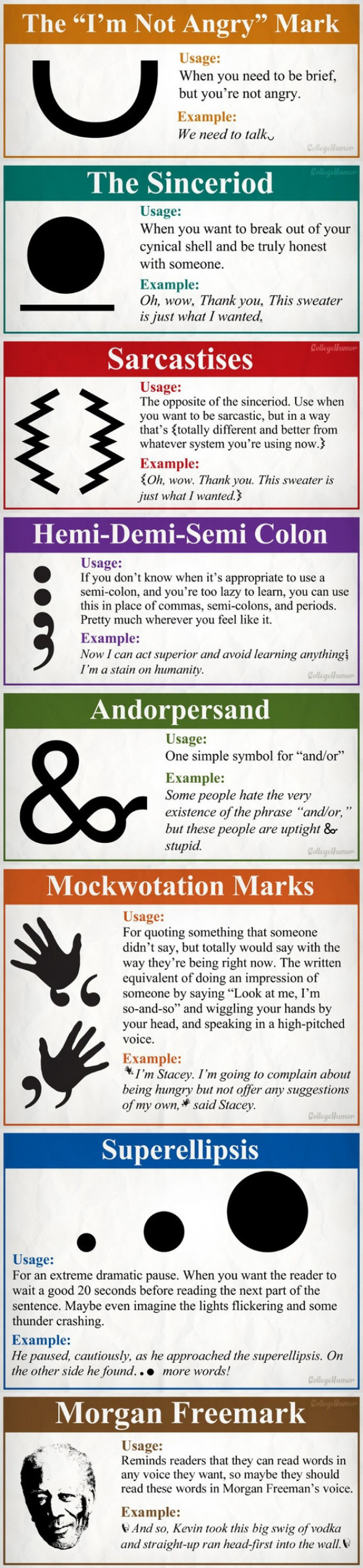 8 Totally Necessary New Punctuation Marks