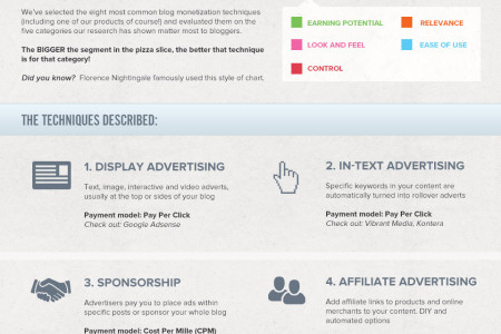 8 Ways to Make Money from your Blog Infographic