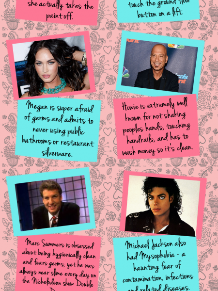 8 Celebrities Suffering from Bacterophobia  Infographic