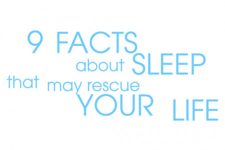 9 Facts About Sleep Infographic