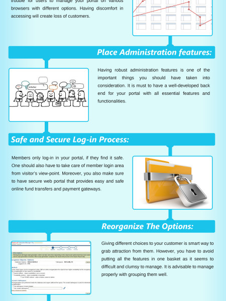 9 Killer Strategies for web portal development Infographic