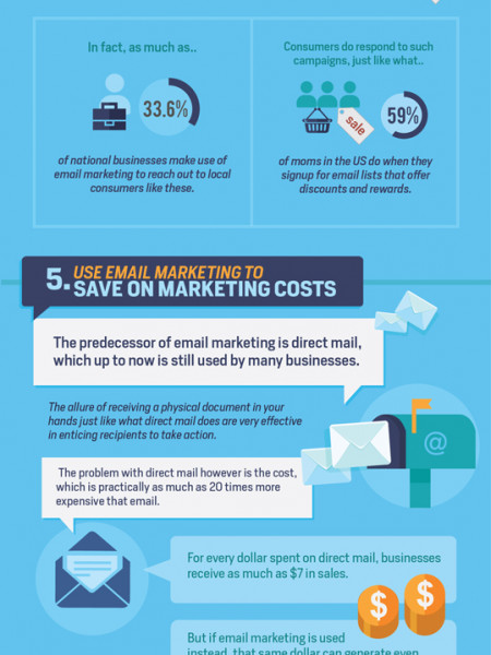9 Powerful Reasons to Use Email Marketing  Infographic