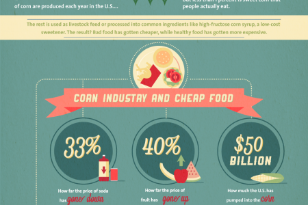 9 Shocking Facts About the Food Industry Infographic