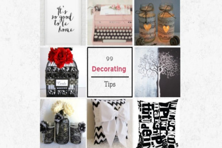 99 Outstanding Decorating Tips Everyone Needs to Know Infographic