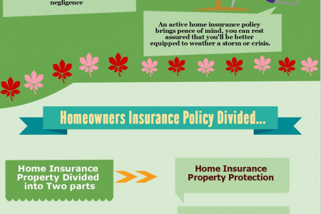 A Brief on Homeowners Insurance Infographic