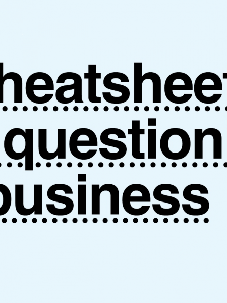 A Cheatsheet for Questioning in Business Infographic