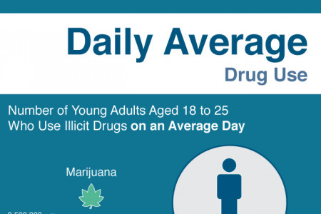 A Day of Drugs in the United States Infographic