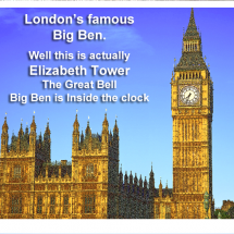 A New Look at Famous Sights Infographic
