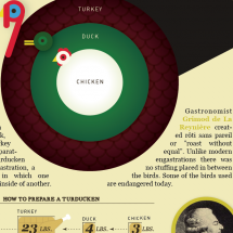 Anatomy of a Turducken Infographic