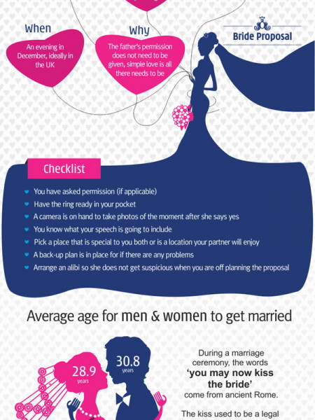 Are you planning the perfect proposal? Infographic