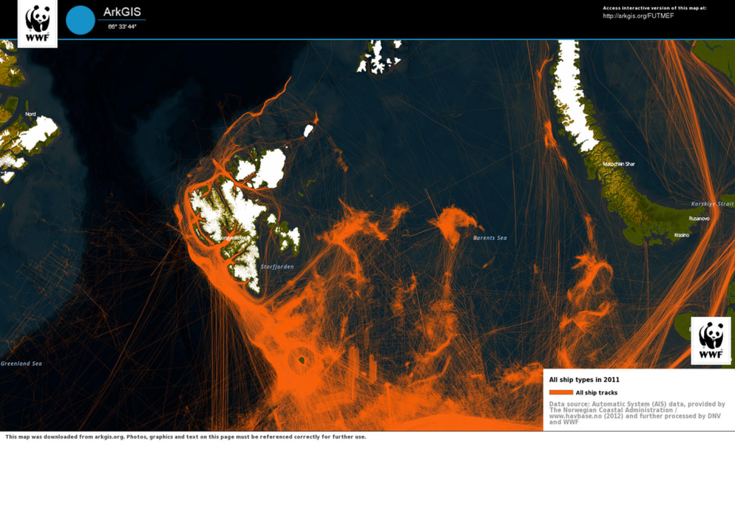 ArkGIS (Arctic Geographical Information System) Infographic