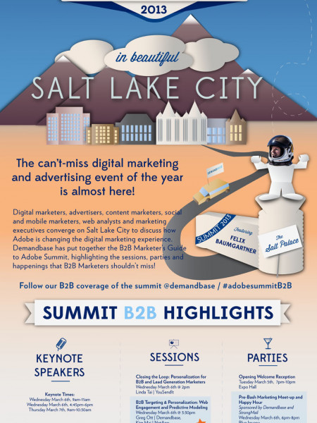 B2B Marketer's Guide to Adobe Summit Infographic